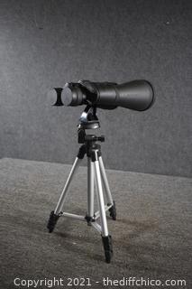 Binoculars w/tripod