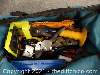Tool Bag With Contents