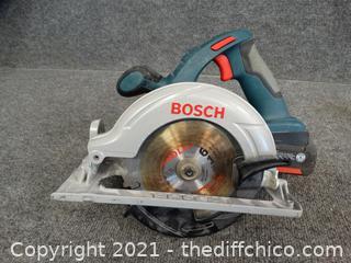 Bosch 18 volt Circular Saw Wks
