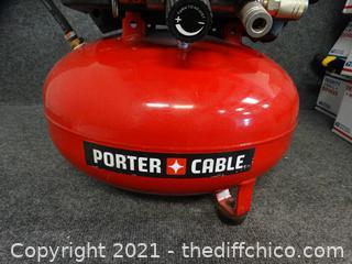 Porter cable 150 PSI 6 Gallon Air Compressor wks