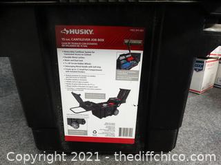 Rolling Husky Tool Box With Contents