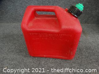 2 + Gallon Gas Can