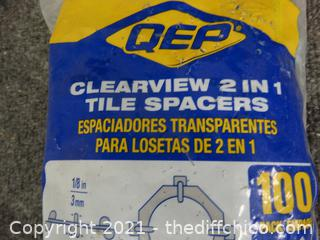 Clearview 2 IN 1 Tile Spacers