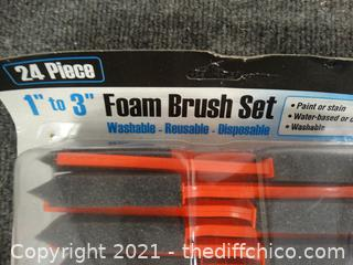 New Foam Paint  Brushes
