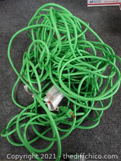 Husky Green 1OO ft  Extension Cord