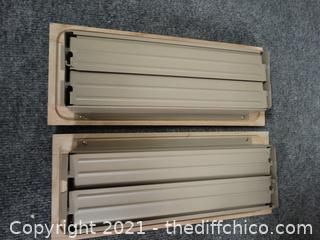 Wooden Vent Covers