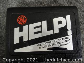 Full Power 40 channel 2 way Emergency CB radio