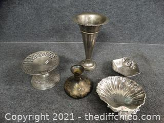 Mixed Silver Colored stuff