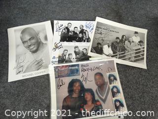 Signed Picture Autographs