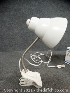Working Clip Lamp
