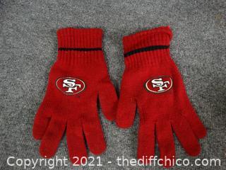 SF 49er Gloves