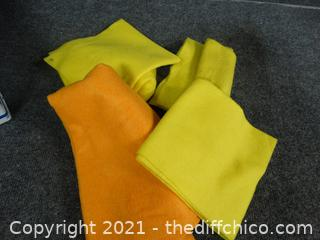Yellow & Orange Felt