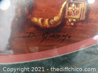 """Signed Framed Art 23 1/2""""x 15 1/2"""""""