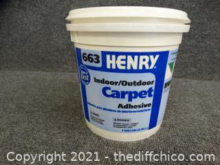 Henry Indoor /Outdoor Carpet Adhesive