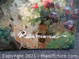 """Signed Painting with COA 36"""" X48"""""""