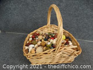 Basket With Potpourri