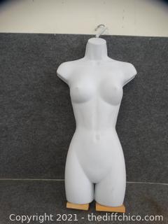 Female  Plastic Store Display  hard plastic