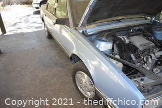 1990 Pontiac 6000-LE Vehicle