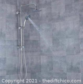 NEW AFA Stainless Multi-Function Shower Head System Rain Head Hand Held