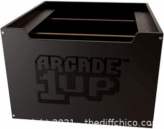 NEW Arcade1Up Riser For Home Arcade Cabinet Plain Black