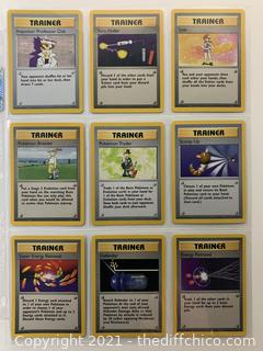 RARE 1999 Pokémon CARDS Lot #1 NM/MT