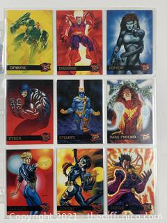 **ALMOST** COMPLETE SET 1995 FLEER ULTRA X-MEN 1-150 TRADING CARD SET