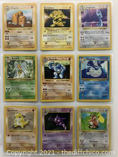 RARE 1999 Pokémon CARDS Lot #7 NM/MT