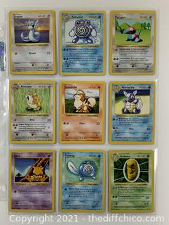 RARE 1999 Pokémon CARDS Lot #6 NM/MT