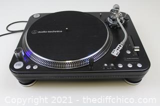 ($799) Audio Technica Direct Drive Professional DJ Turntable Model AT-LP1240-USB