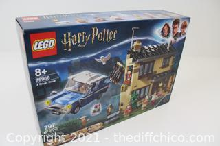 NEW LEGO Harry Potter 4 Privet Drive 75968; Fun Children's Building Toy for Kids Who Love Harry Potter Movies