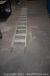 24ft Aluminum Extension Ladder