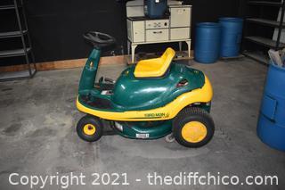 30in blade Yard Man Lawn Mower - needs work