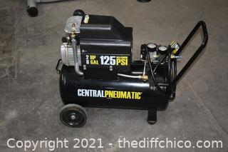 Work Central Pneumatic  110volt 2hp 8 gal Air Compressor