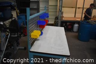 Work Bench plus Sorting Boxes