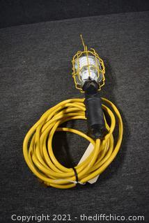 Working 25ft Job Light