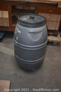 Barrel with Screw Top