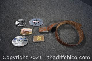Belt and Buckles