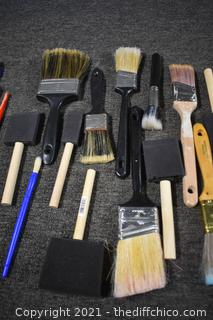 Lot of Brushes