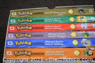 Collection of Pokeman Adventure Books