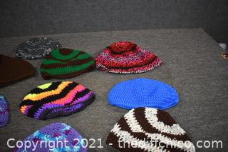 10 Hand Made Hats