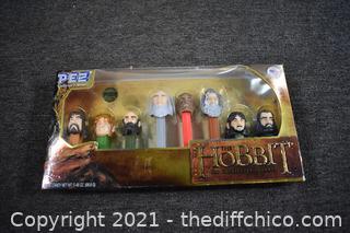 NIB PEZ Hobbit Collector Series