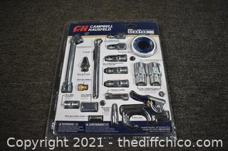 NIB Campbell Hausfeld 20piece NIB Air Compressor Starter Kit