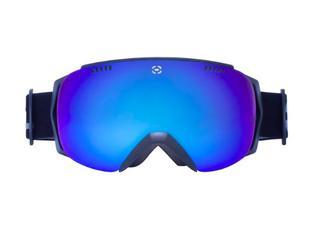 Winterial Frameless Ski & Snowboard Goggles - Black (J22)