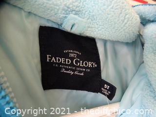 Girls 5t Faded Glory Coat