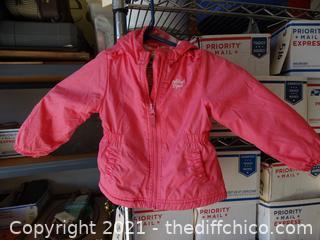 Pink Oshkosh B'gosh Girls Jacket 18 months
