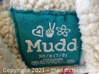Girls 7/8 Mudd Teal Vest