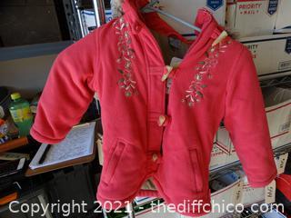 Girls Pink Pumpkin Patch Coat 5
