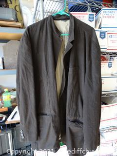 XXXL Brown Mens Coat