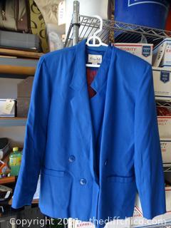 Womens RLM Dress Coat Small