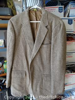 Orbachs Wool Dress Coat unknown Size L/XL
